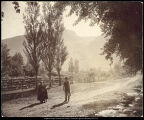 [Children near a farm in Willard, Utah]