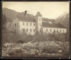 Deseret Paper Mill, Mouth of Cottonwood Canon Utah. C.R. Savage, Photo.