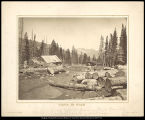 Views in Utah- Saw Mill of Judge W.A. Carter in  Uinta Mountains 22 miles South of Fort Bridger