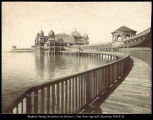Lake Front, Saltair Beach Gt. Salt Lake,  C.R. Savage, Photo.