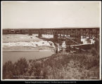 North Side Railroad Bridge, American Falls, Idaho. C.R. Savage, Photo.