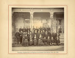 The Bishop, Superintendents and Teachers of the Sixteenth Ward Sunday School, Dec. 1883.