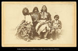 [Ute Indians in traditional dress]