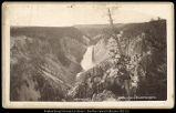 Lower Falls of the Yellowstone 300 feet, C.R. Savage,  Salt Lake.