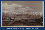 [Wasatch Mountains from Liberty Park]