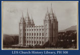 Mormon Temple, Salt Lake