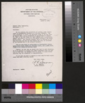 Arthur V. Watkins Colorado River Storage Project correspondence