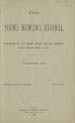 The Young Woman's Journal Vol. 03 1891-1892