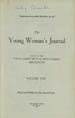 The Young Woman's Journal Vol. 22 1911