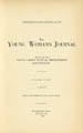 The Young Woman's Journal Vol. 33 1922