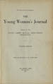 The Young Woman's Journal Vol. 38 1927
