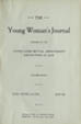 The Young Woman's Journal Vol. 08 1896-1897