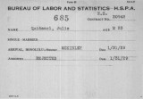 1- Bureau of Labor and Statistics