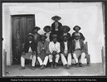 William Gates photograph of ten Indian men
