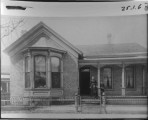Cooper home in Salt Lake City. Elizabeth Maslen Cooper,Ebenezer LeRoy Beesley and Henry Adelbert...