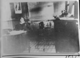 1915. Rula Wilson at Driggs State Bank.