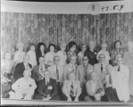 Class of 1929 Reunion, Teton High School #5 front row, Marlin L. Dittmore. #11 3rd row, Barbara...