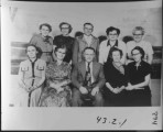 Driggs Elementary Faculty, 1954....