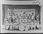 Driggs School Band. Top row:...