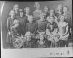 Primary Class, 1922-1924. Front...