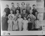 Richvale School. Back row:??,...