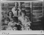 Mary Kunz Brown, Kate Kunz McDonald, Lula Kunz Curtis, Hazel Hibbert, Monroe Dustin Jr.