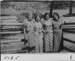 Delores Jerrine Beard Vignalo, Opal May Beard Mathews, Ella Maxine Beard Larsen and Margie Rose...