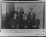 T.H.S. Class officers, abt 1917....
