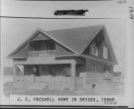 J. C. Fackrell home in Driggs