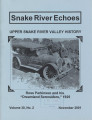 2001 B Snake River Echoes Vol 30 No 02