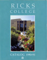 1990-1991 Ricks College Catalog