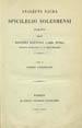 Analecta sacra spicilegio Solesmensi parata. (Parisiis : Ex Publico Galliarum Typographeo, 1883);