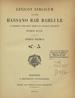 Hassan bar Bahlul, 10th cent.  Lexicon Syriacum. (Parisiis : E Reipublicae typographaeo, 1901);