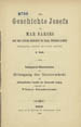Narsai, ca. 413-503. Die Geschichte Josefs. (Berlin : Druck von H. Itzkowski, 1889);