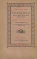 Ktava d-shapir dubare : d-'atir b-zuhare w-martyanwata d-'al hasyut znaye w-nakhput hufake w-durashe mahnayne b-ru h w-bafgar : 'am matle d-hakime d-'atikaye d-simin b-mushhayye. (Rome : Tab'a da-propagnda lwat maryatti, 1868);