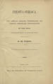 Inedita Syriaca : eine Sammlung syrischer Uabersetzungen von Schriften griechischer Profanliteratur : mit einem Anhang, aus den Handschriften des Brittischen [sic] Museums.  (Wien : K.K. Hof- und Staatsdruckerei, 1870);