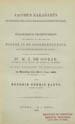 Jacobus Baradaeues : de stichter der Syrische monophysietische kerk . . . . (Leiden : E.J. Brill, 1882);