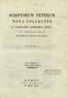 Biblioteca apostolica vaticana. Scriptorum veterum nova collectio e Vaticani codicibus. Vol. 5, (Romae : Typis Vacticanis, 1825-1838);