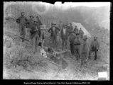 Camp Scofield Railroad, Railroad camp