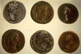 Coins of Six Emperors